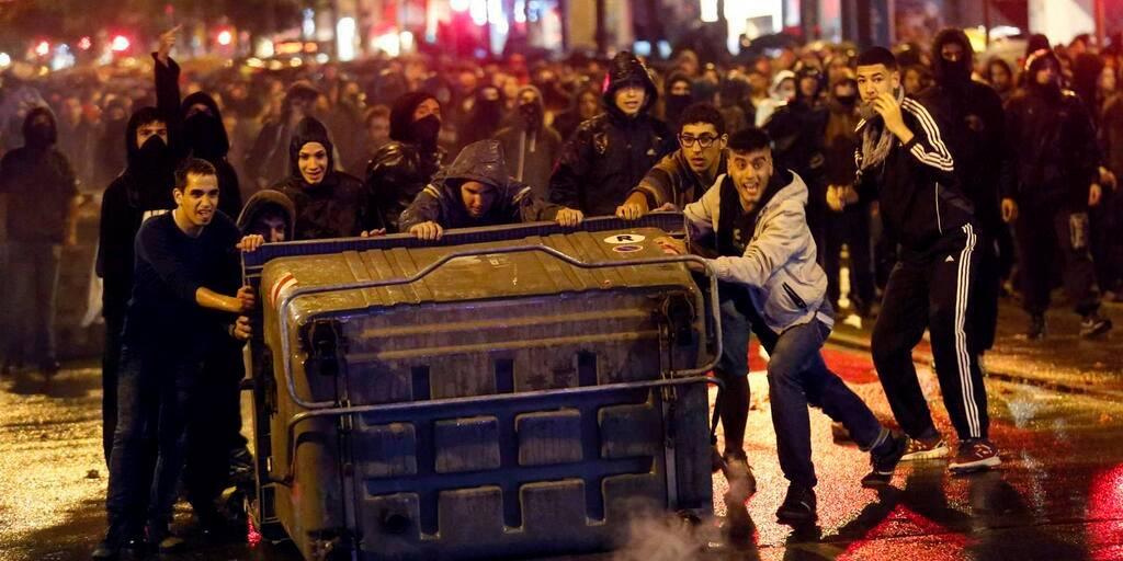 Violència entorn de Can Vies, símptomes inquietants.