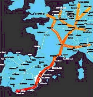 El Corredor Mediterrani com a eix d'infraestructures dels Països Catalans