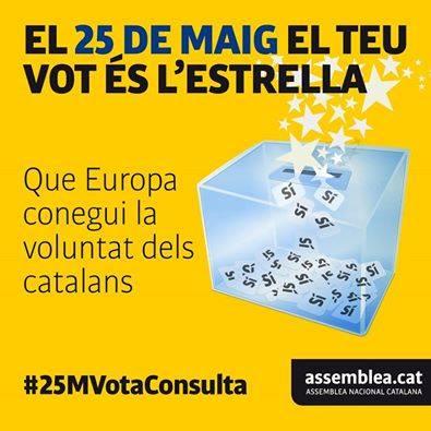 El 25 de Maig referma la voluntat del poble català de seguir la via de la independència
