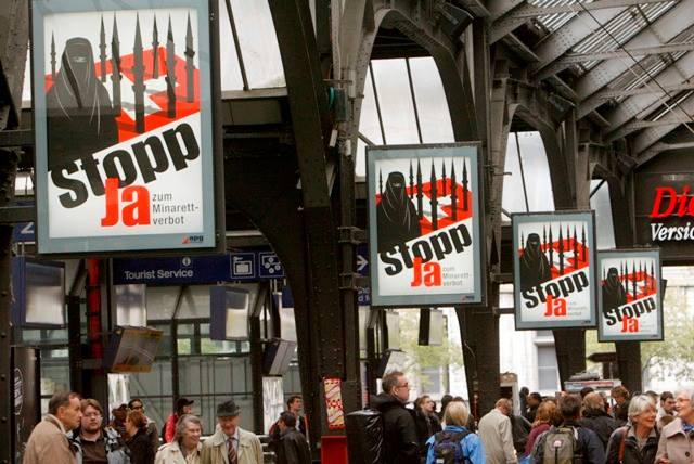 Volem un referèndum sobre els minarets a Catalunya. Dret a decidir. Democràcia com a Suïssa.