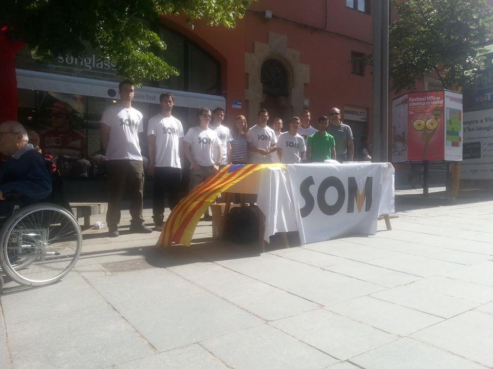 SOM Catalans: Cap de setmana d'activitat i propaganda a Osona
