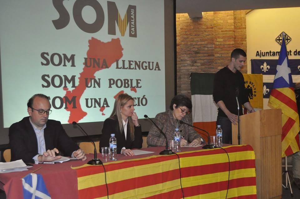 Presentació pública de SOM Catalans a Vic.