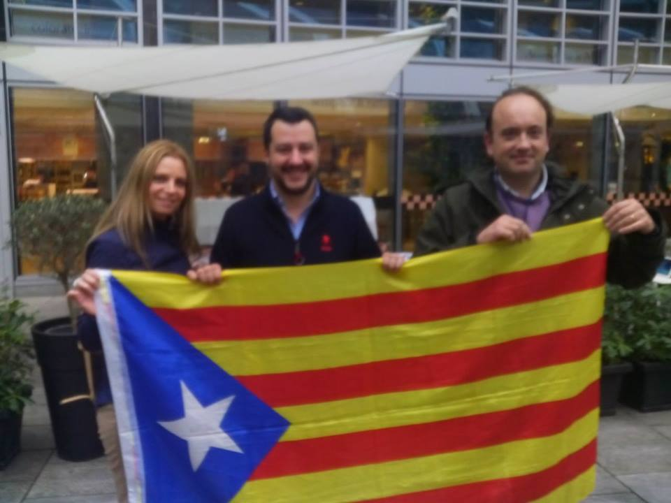 Trobada entre la Lega Nord i SOM Catalans a Milà.