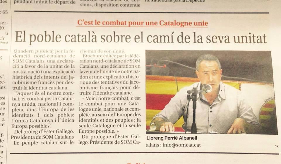 SOM Catalans a la premsa de Catalunya Nord.