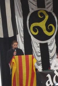 SOM catalans al congrés del partit independentista i anti-immigració bretó ADSAV.