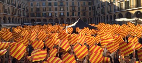 Diada per la Llengua a Palma.