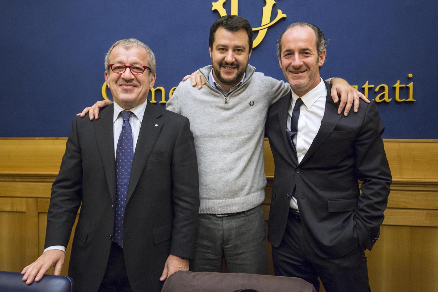 Victòria de la LEGA al Vèneto i la Llombardia.