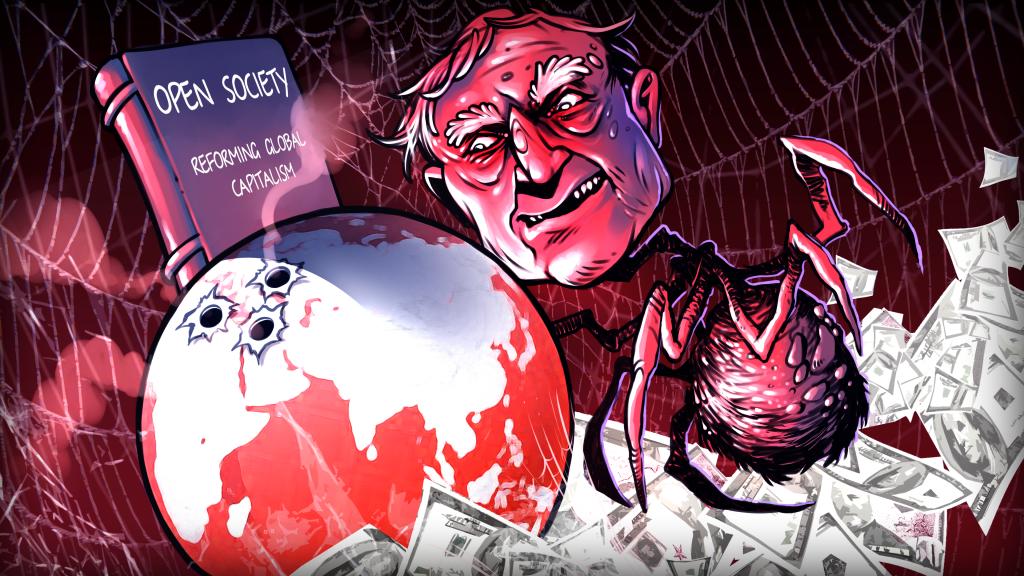 George Soros, heus aquí l'enemic.