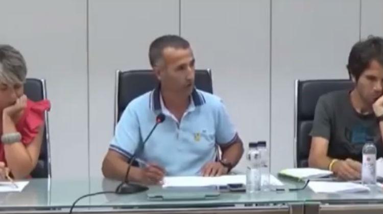 Miquel Serra, alcalde d'Alcarràs. ERC